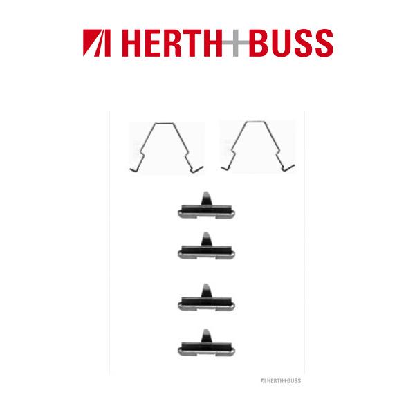 HERTH+BUSS Bremsen Bremsscheiben + Beläge für MAZDA 626 IV MX-6 XEDOS 6 hinten