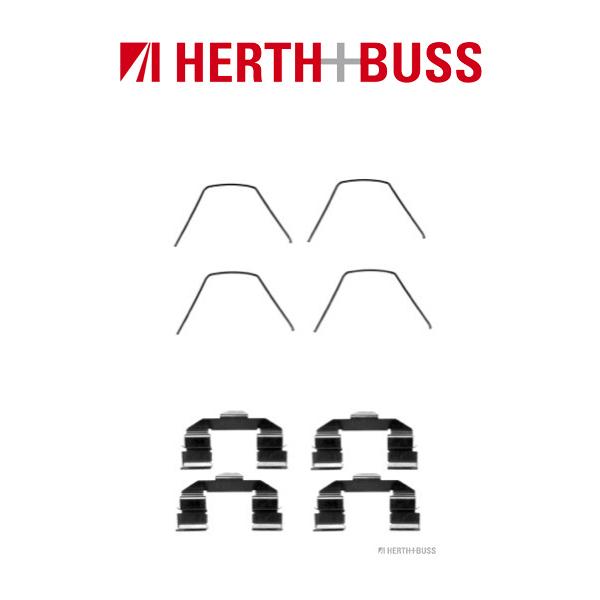 HERTH+BUSS JAKOPARTS Bremsbeläge Zubehörsatz für MAZDA 6 (GG) 1.8 120 PS vorne