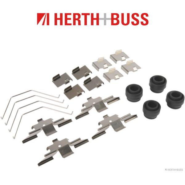 HERTH+BUSS JAKOPARTS Bremsbeläge Bremsklötze Zubehörsatz für MAZDA 6 (GH) vorne