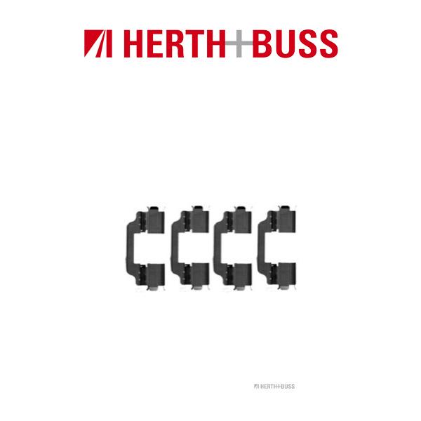 HERTH+BUSS Bremsen Bremsscheiben + Beläge für SUZUKI SX4 (EY GY) 1.6 107PS vorne