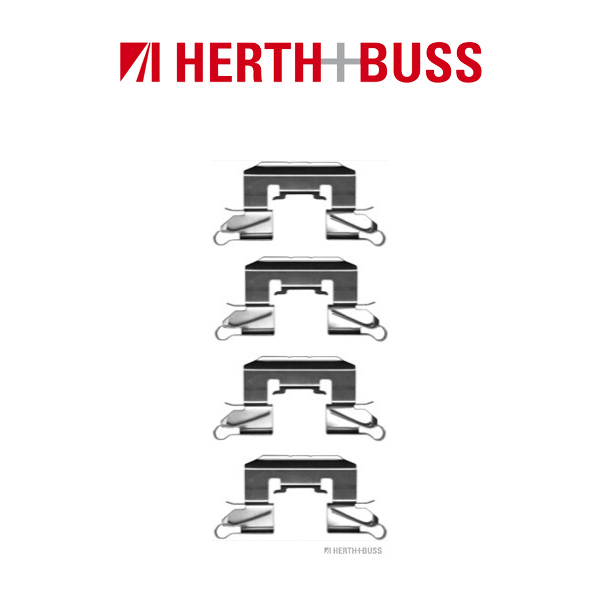 HERTH+BUSS Bremsscheiben + Bremsbeläge für SUZUKI SWIFT IV 1.2 + 1.3 DDiS vorne