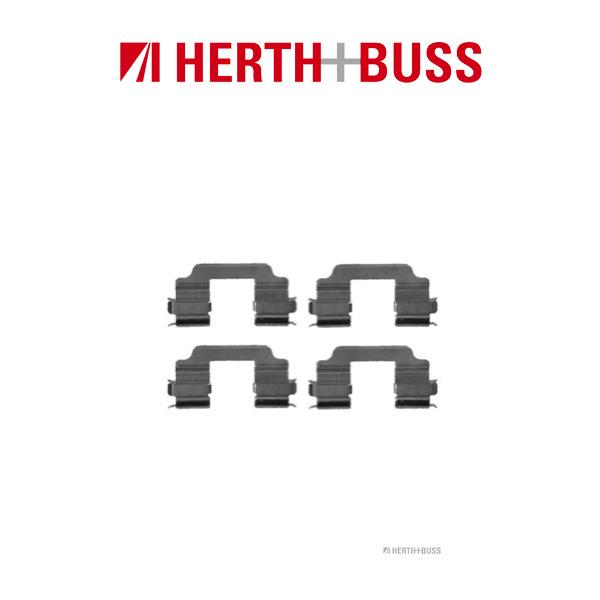 HERTH+BUSS Bremsen Bremsscheiben + Beläge für SUZUKI SPLASH (EX) SWIFT III vorne