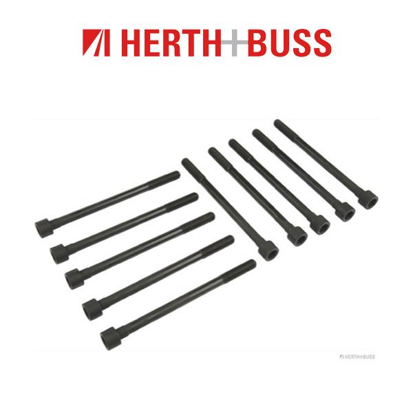 10x HERTH+BUSS JAKOPARTS Zylinderkopfschrauben NISSAN Micra 2 K11 1.0 1.3 1.4