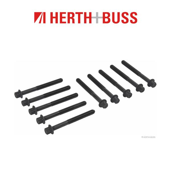 10x HERTH+BUSS JAKOPARTS Zylinderkopfschrauben NISSAN Primera X-Trail T30 T31