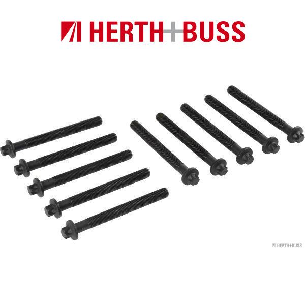 10x HERTH+BUSS JAKOPARTS Zylinderkopfschrauben für NISSAN MICRA NOTE PRIMASTAR