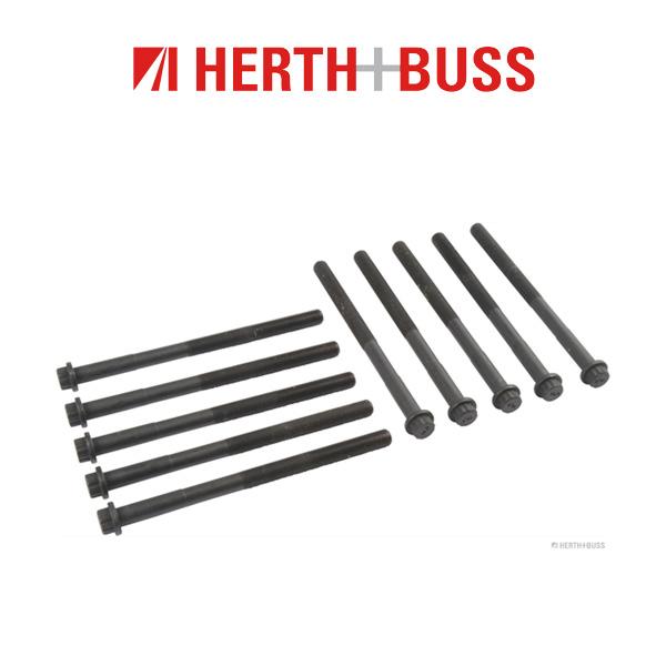 10x HERTH+BUSS JAKOPARTS Zylinderkopfschrauben LEXUS IS TOYOTA Auris Avensis