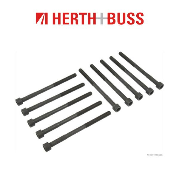 10x HERTH+BUSS JAKOPARTS Zylinderkopfschrauben TOYOTA Avensis Rav 4 2.0 2.4