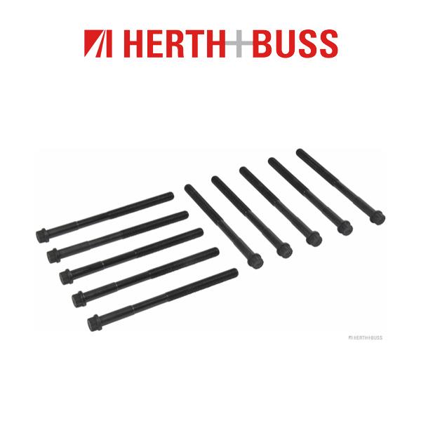 10x HERTH+BUSS JAKOPARTS Zylinderkopfschrauben TOYOTA Auris Corolla Yaris 1.4 D