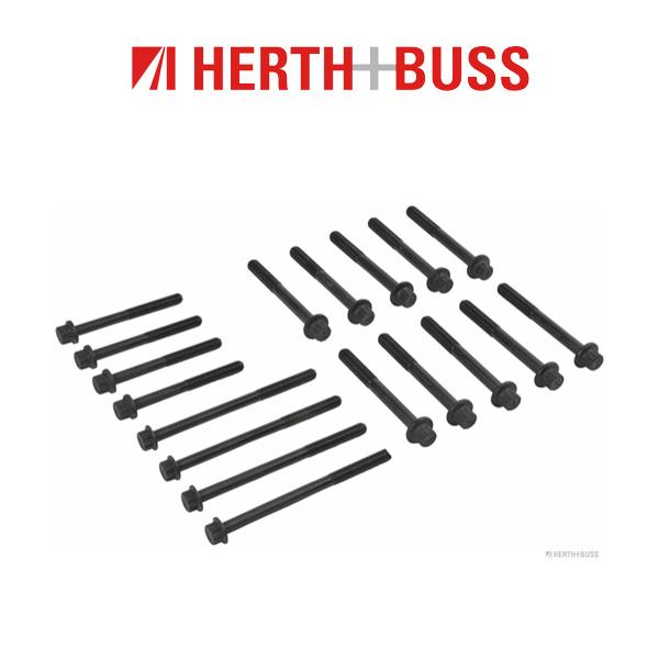 18x HERTH+BUSS JAKOPARTS Zylinderkopfschrauben MAZDA BT-50 Pick Up (CD UN) 2.5