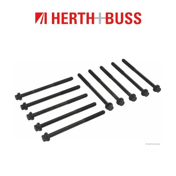10x HERTH+BUSS JAKOPARTS Zylinderkopfschrauben HONDA Accord Civic CR-V 2.2 CTDi