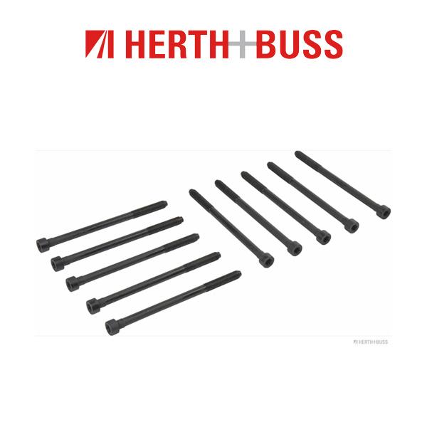 10x HERTH+BUSS JAKOPARTS Zylinderkopfschrauben für MITSUBISHI ASX COLT LANCER