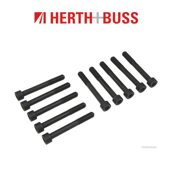 10x HERTH+BUSS JAKOPARTS Zylinderkopfschrauben für SUZUKI ALTO (FF) 1.1 63 PS