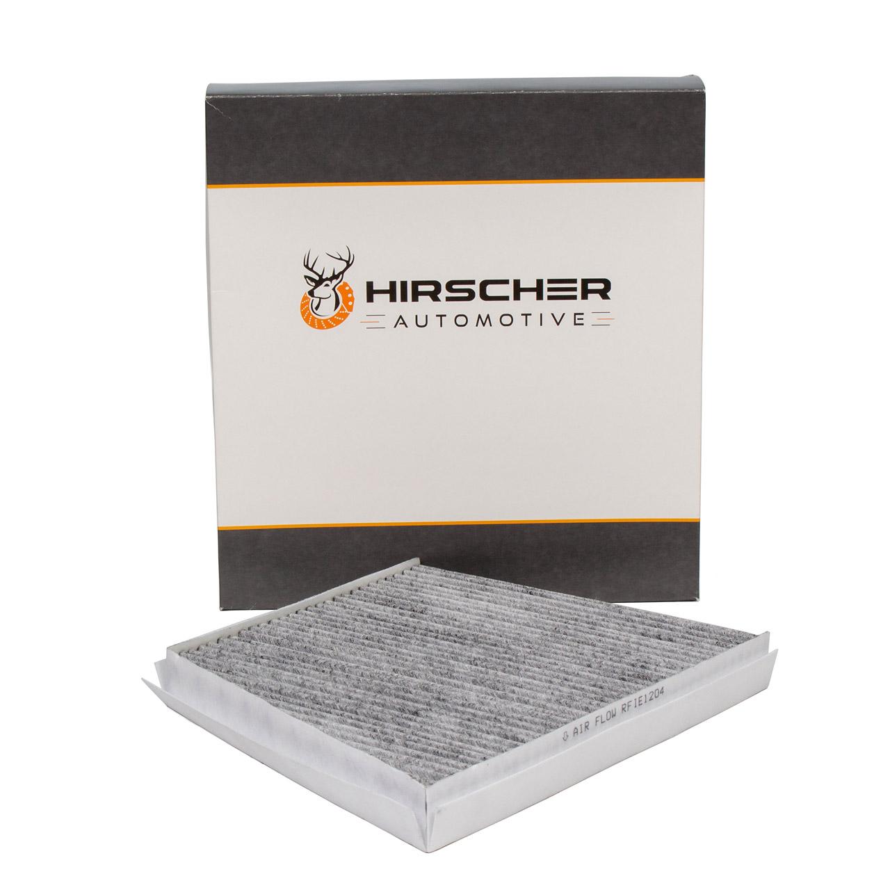 HIRSCHER Innenraumfilter Aktivkohle MERCEDES E-Klasse W211 S211 CLS C219 2118300018