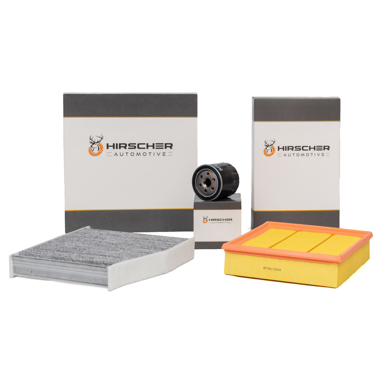 HIRSCHER Filterset MERCEDES W176 W246 C/X117 X156 160/180CDI 90/109 PS OM607