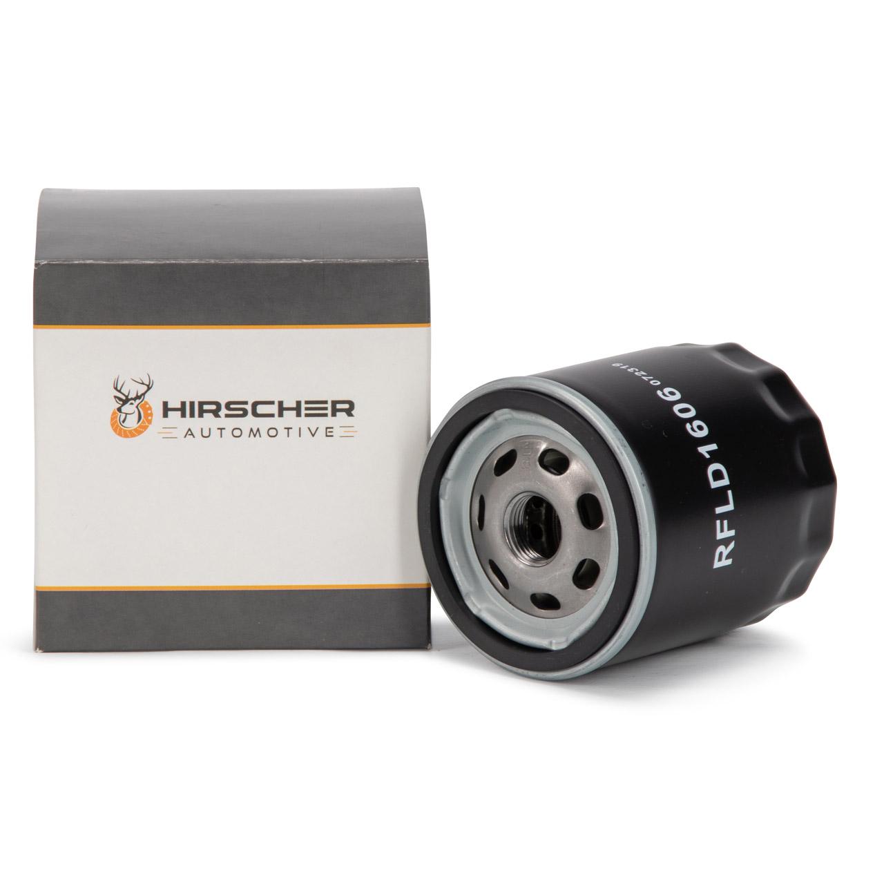 HIRSCHER Ölfilter OPEL Astra Corsa Kadett Omega Signum Vectra Zafira 95509857