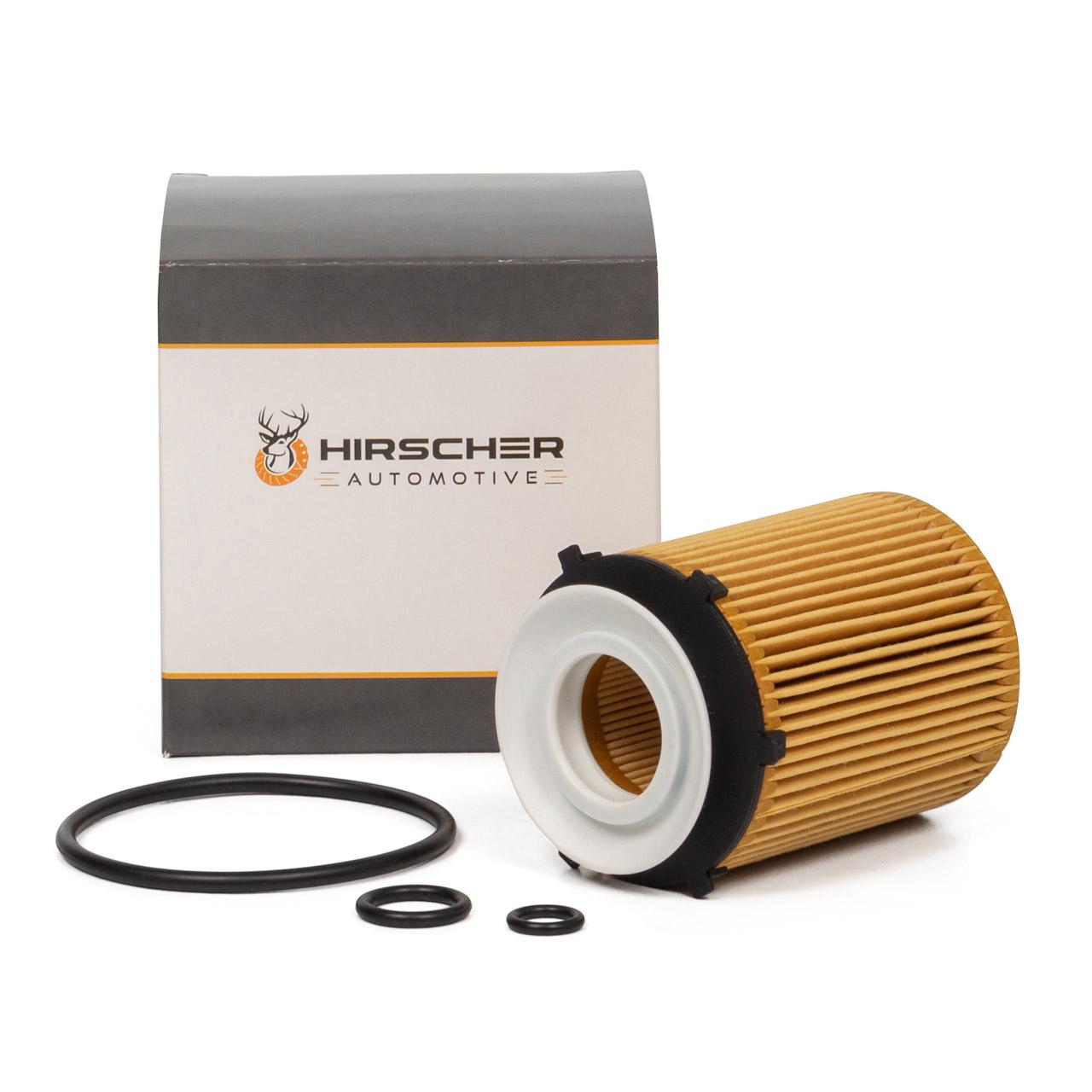 HIRSCHER Ölfilter MERCEDES W176 W246 W204 W205 W212 W213 M270 M274 2701800109