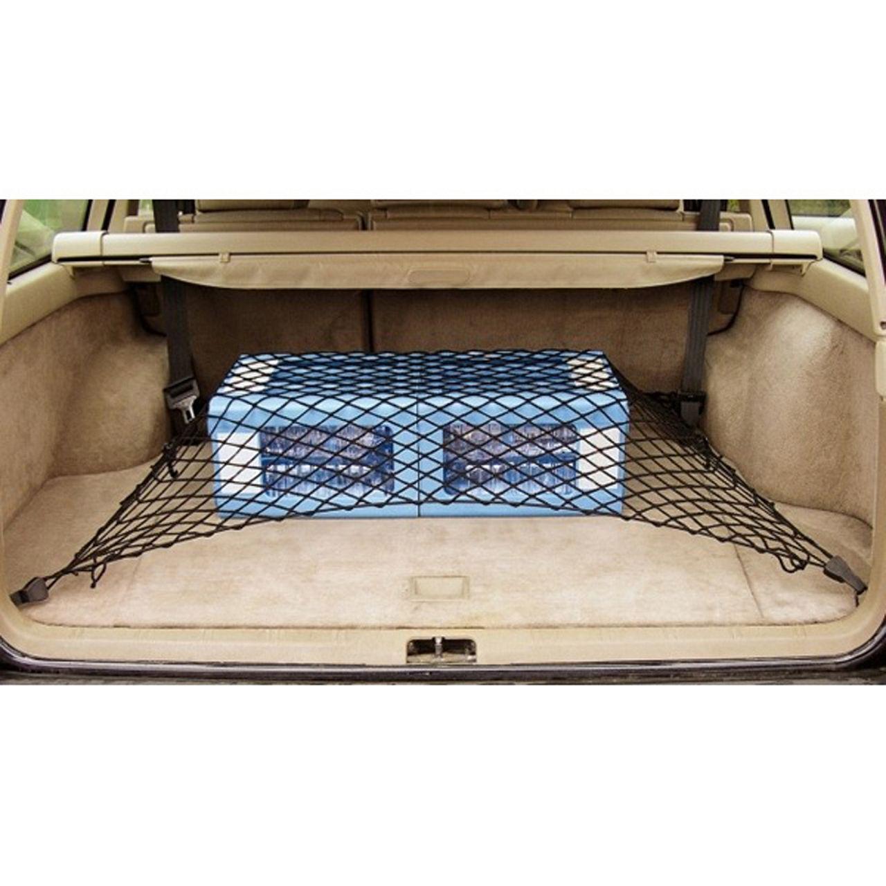 HP Kofferraumnetz Gepäcknetz Sicherheitsnetz Transportnetz 90x50cm