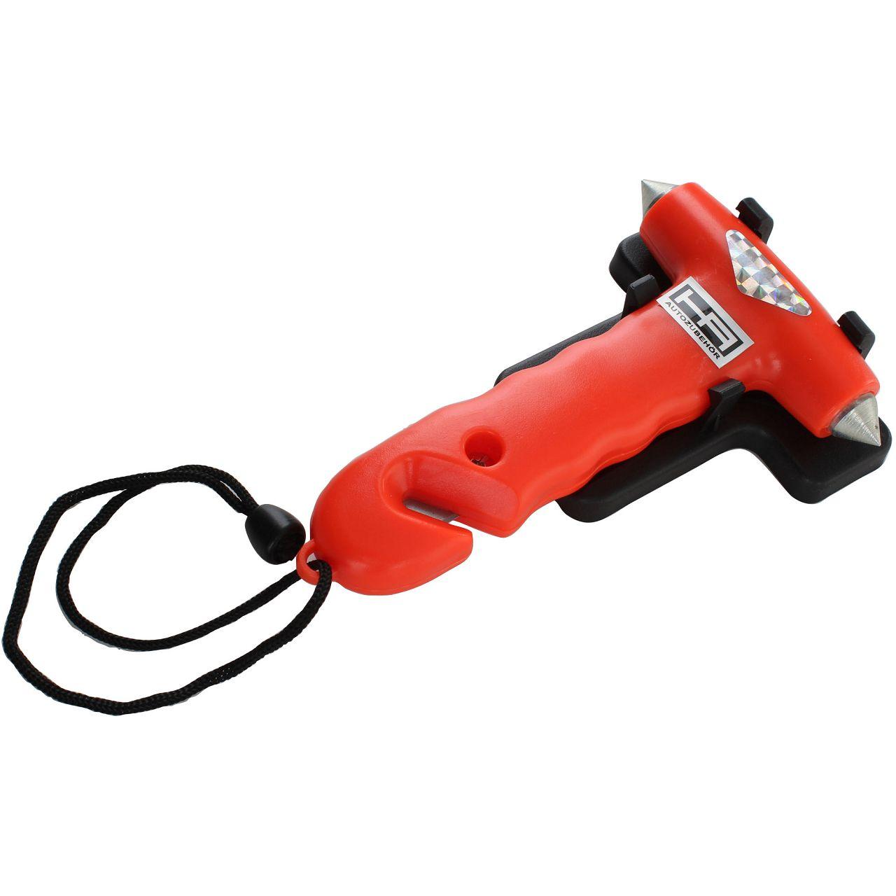 HP Nothammer Notfallhammer mit Gurtmesser Gurtschneider 10659