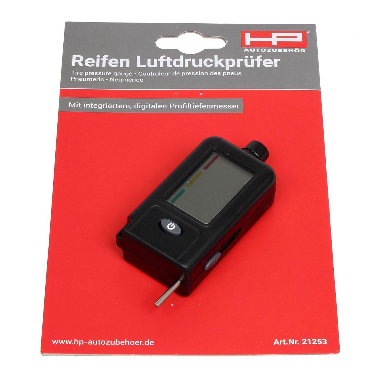 HP 21253 Luftdruckprüfer Reifendruckprüfer Reifen-Luftdruckprüfer