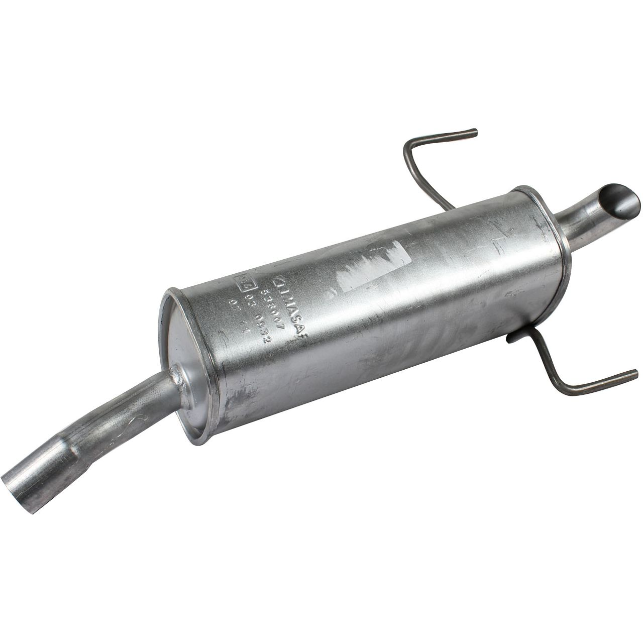 IMASAF Schalldämpfer Endschalldämpfer für OPEL ASTRA H 1.4 90 PS 1.6 105 PS