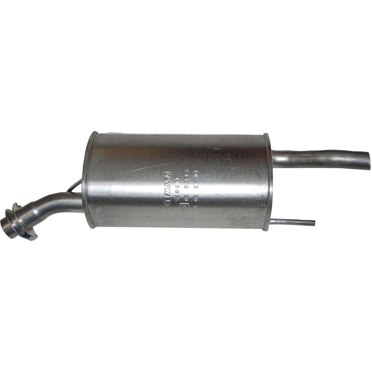 IMASAF Schalldämpfer Endschalldämpfer für OPEL CORSA B 1.0i 12V 54 PS X10XE