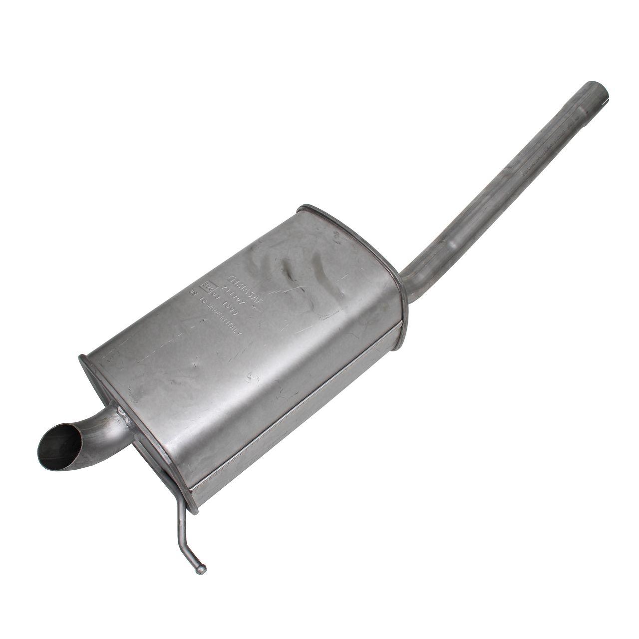 IMASAF Schalldämpfer Endschalldämpfer VW Caddy 3 1.6 TDI 1.9 TDI 2.0 TDI