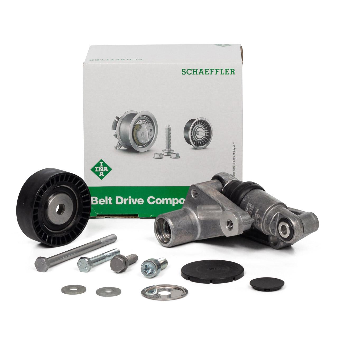 INA Reparatursatz Spannarm Riemenspanner BMW 3er E36 E46 5er E34 E39 E60 E61 X3 E83 X5 E83