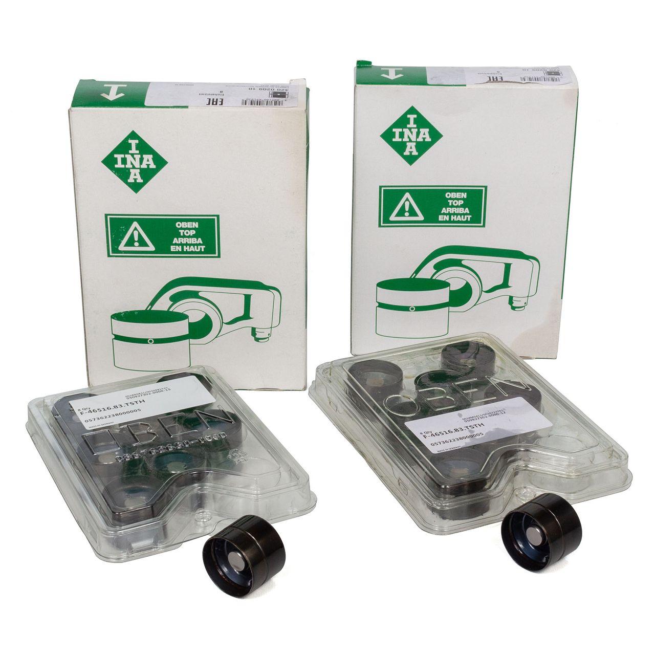 16x INA 420020910 Ventilstössel Hydrostössel AUDI FORD SEAT SKODA VW 1.2-2.5 TDI