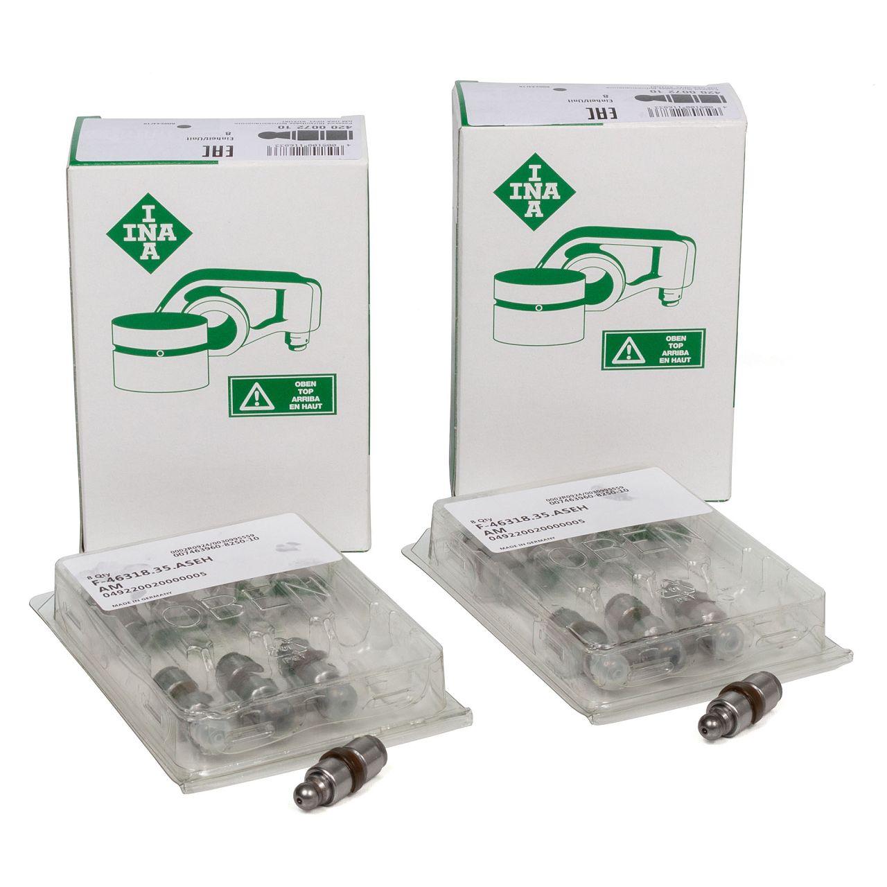 16x INA 420007210 Ventilstössel Hydrostössel CHEVROLET OPEL SUZUKI 1.0 1.2 1.4