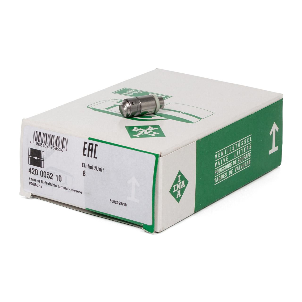 8x INA 420005210 Ventilstössel Hydrostössel PORSCHE 993 3.6 / 3.8 Carrera
