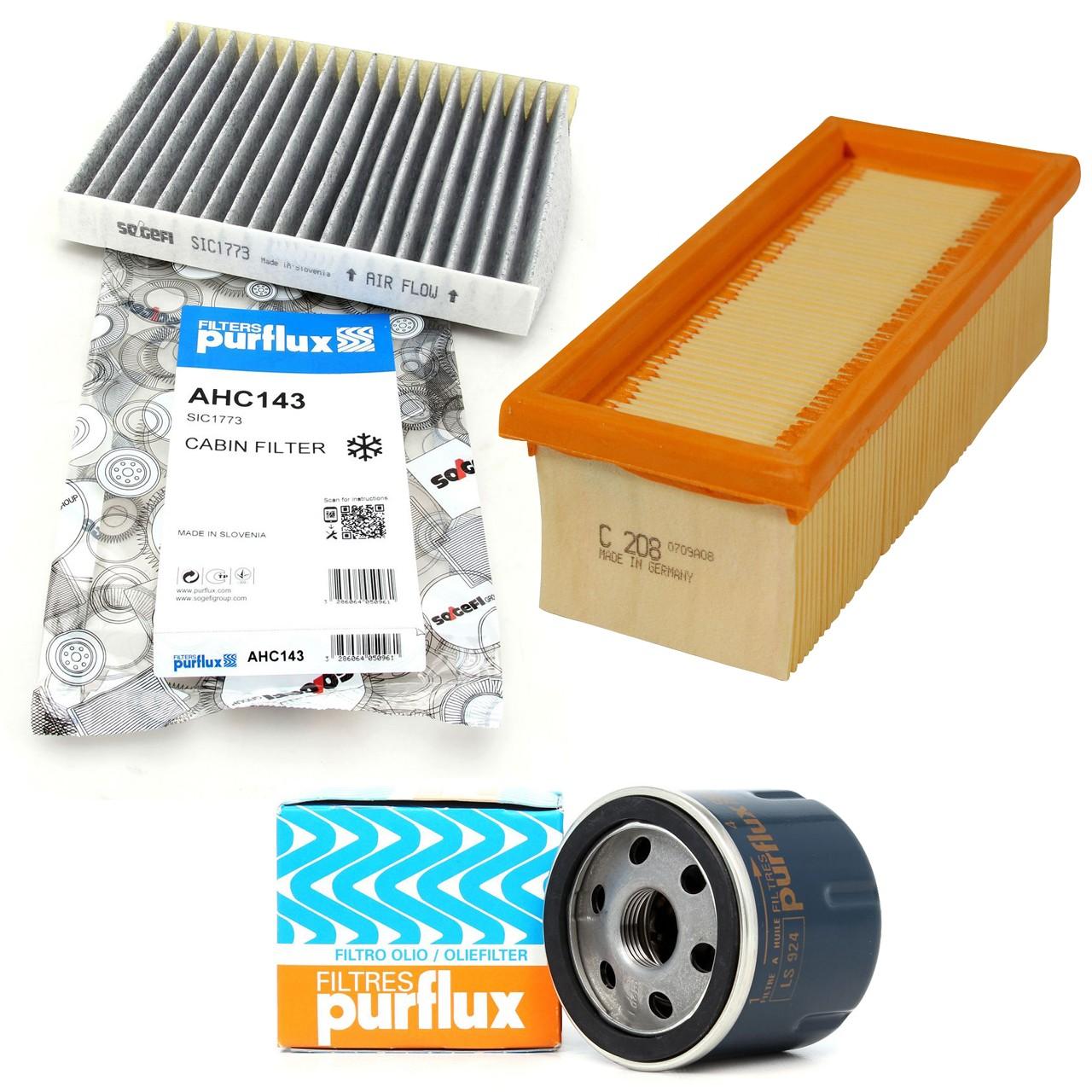 Filterpaket Filterset für Nissan Kubistar Renault Clio II Kangoo Thalia 1.2 16V