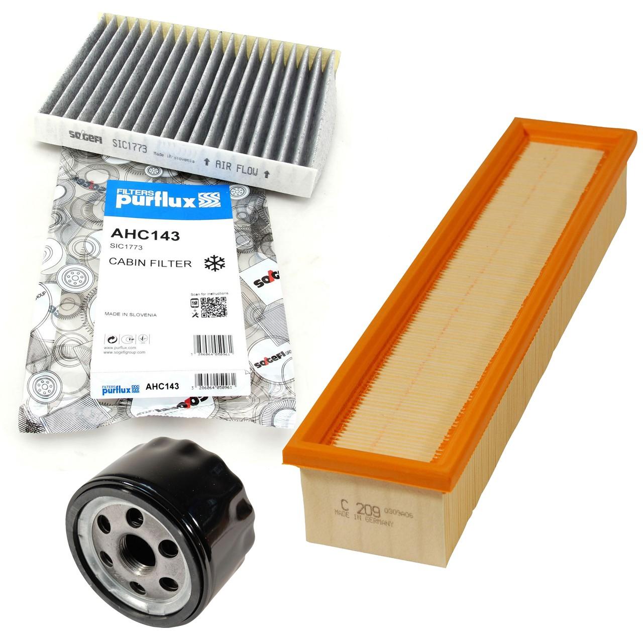 Filterpaket Filterset für Nissan Kubistar Renault Clio II Kangoo Thalia I 1.5dCi