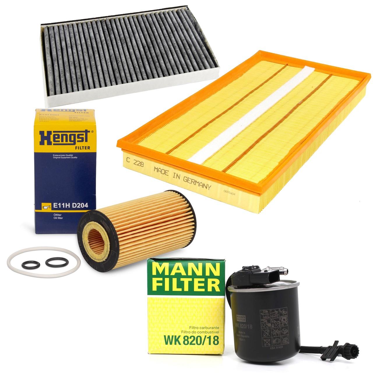 Filterset für Mercedes Viano CDI 2.0 CDI 2.2 Vito 110/113/116CDI W639
