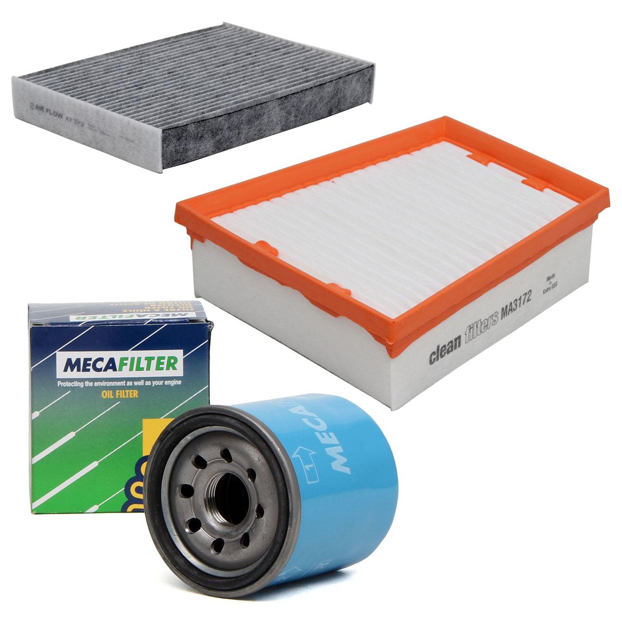 Inspektionskit Filterpaket Filterset RENAULT Scenic III 2.0 16V 140 PS