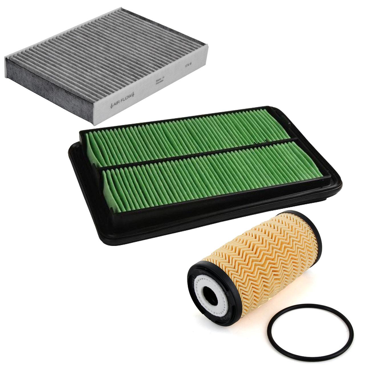 Inspektionskit Filterpaket Filterset für RENAULT KADJAR 1.6dCi 130 130 PS