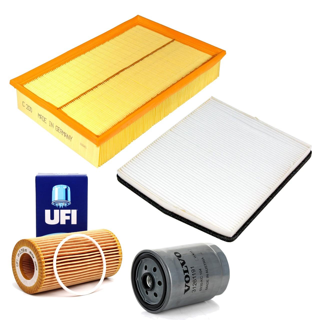 Filterpaket Filterset für VOLVO S60 I S80 I V70 II XC70 Cross Country 2.4 D5