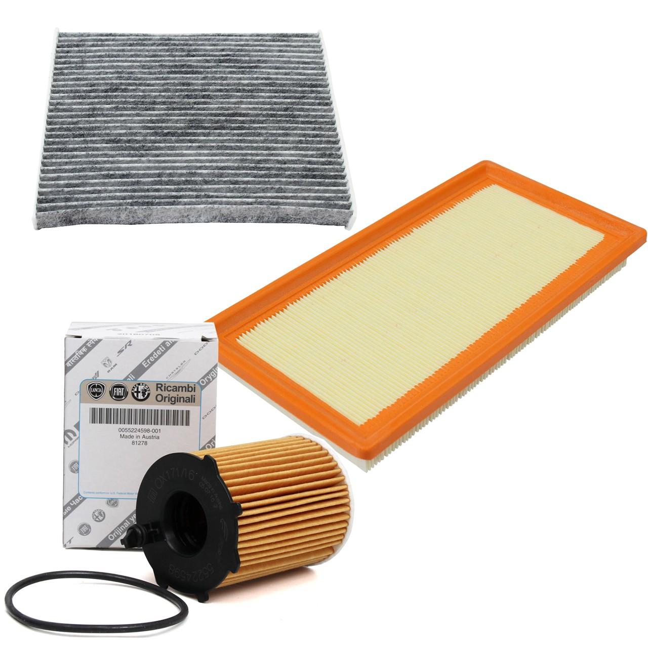 Filterset für ALFA ROMEO MITO (955_) FIAT 500 / C (312_) 0.9 86 / 101 / 105 PS