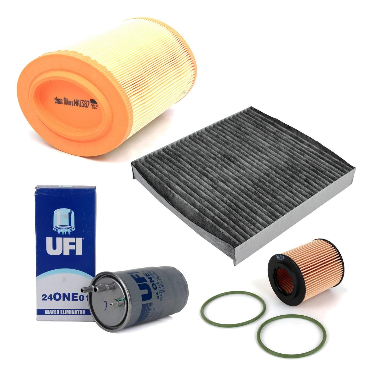 Inspektionskit Filterpaket ALFA ROMEO 159 (939) 1.9 JTDM 115-150 PS