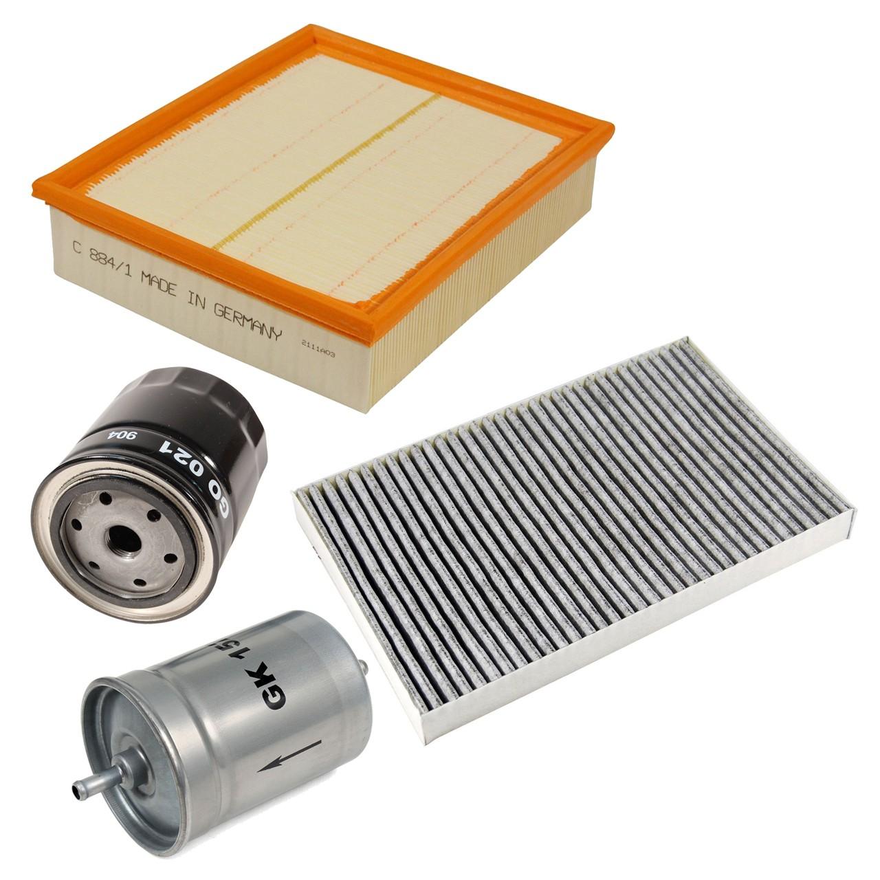 Inspektionskit Filterpaket Filterset für Audi A6 (4B C5) 2.4 2.7T 2.8 136-230 PS