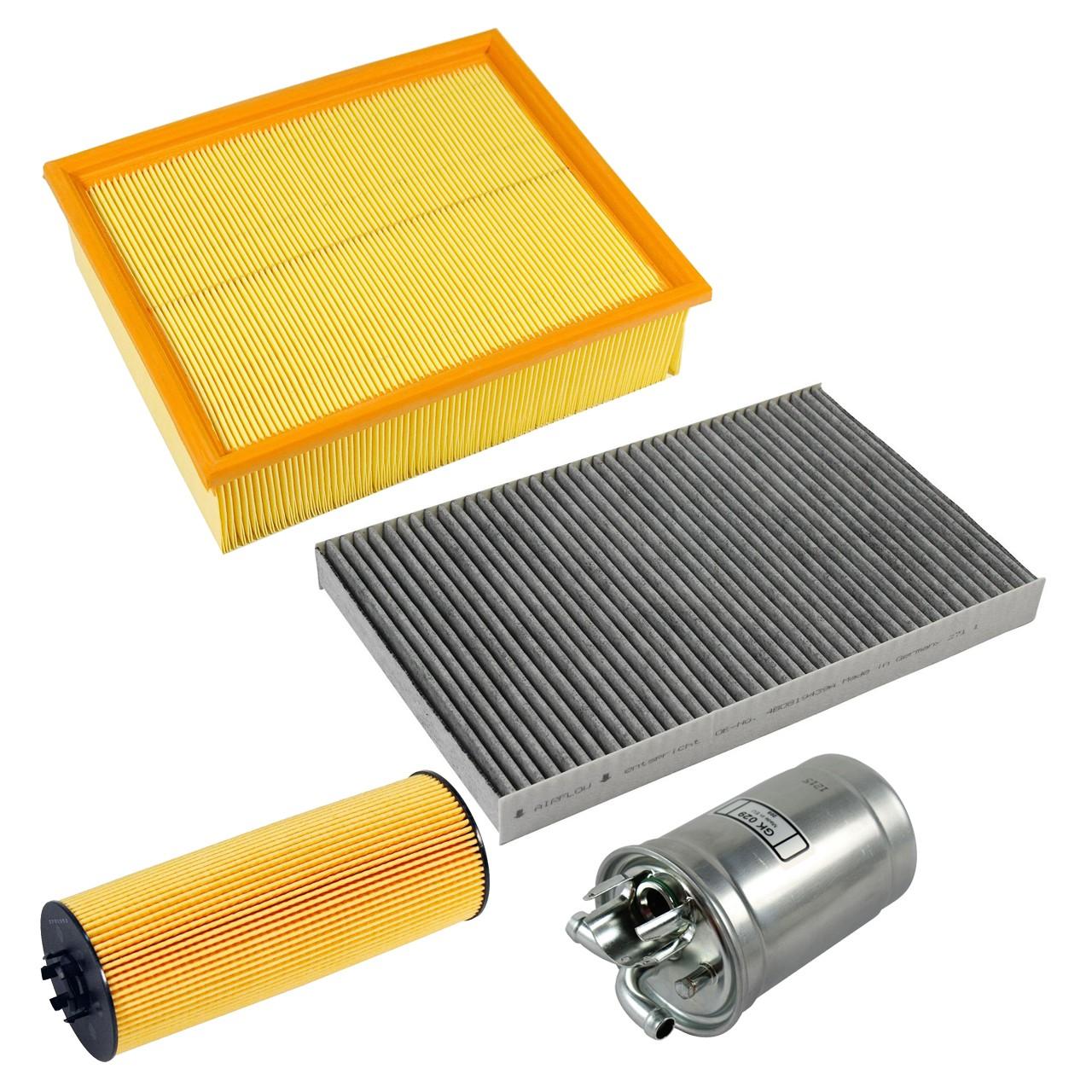 Filterpaket Filterset für Audi A6 (4B C5) 2.5TDI 150-180PS ab 07.1999