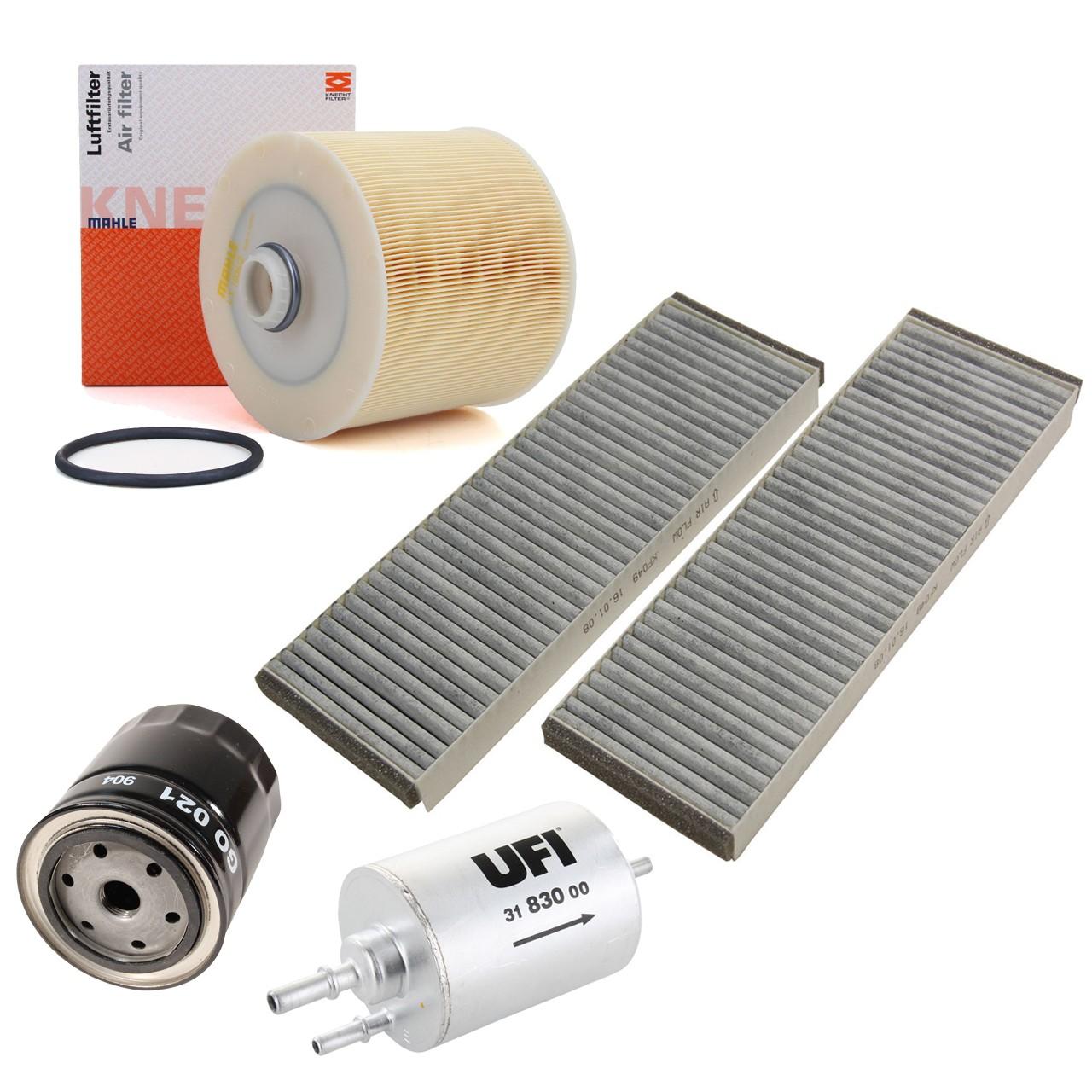 Inspektionskit Filterpaket für Audi A6 (4F C6) 3.0 218 PS mit Klimaautomatik