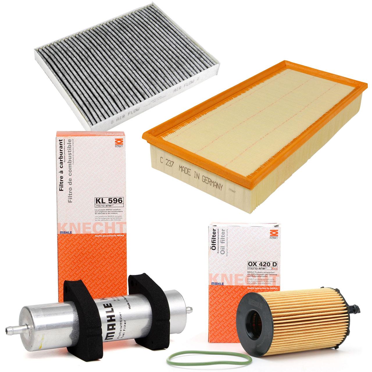 Inspektionskit Filterpaket Filterset für Audi Q7 4L 3.0TDI 204/245 PS ab 05.2010