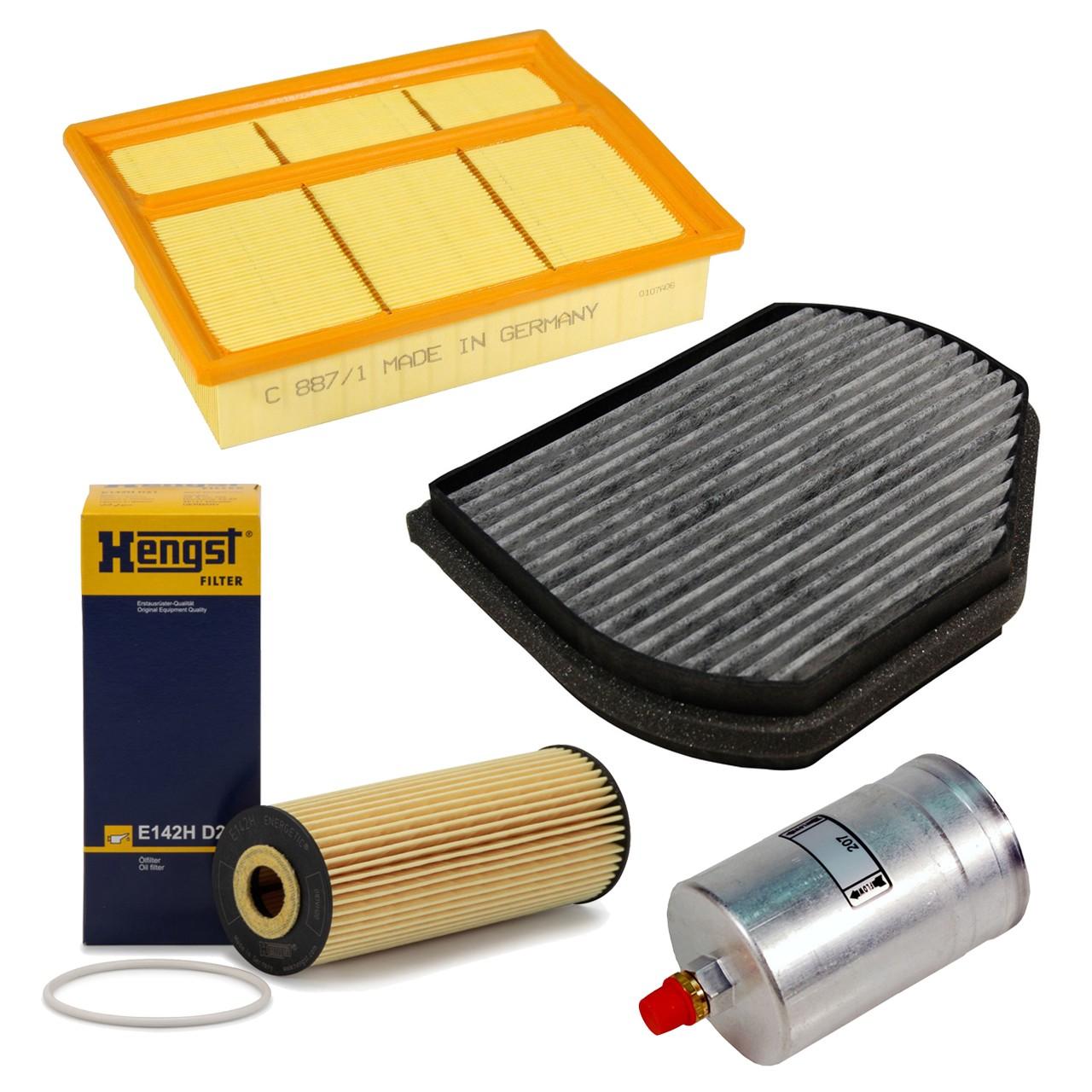 Inspektionskit Filterpaket Filterset für Mercedes W202 C180-63AMG bis 10.1994