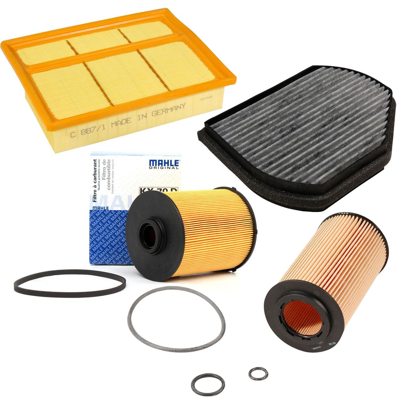 Inspektionskit Filterpaket MERCEDES W202 S202 C 200 CDI C 220 CDI OM611