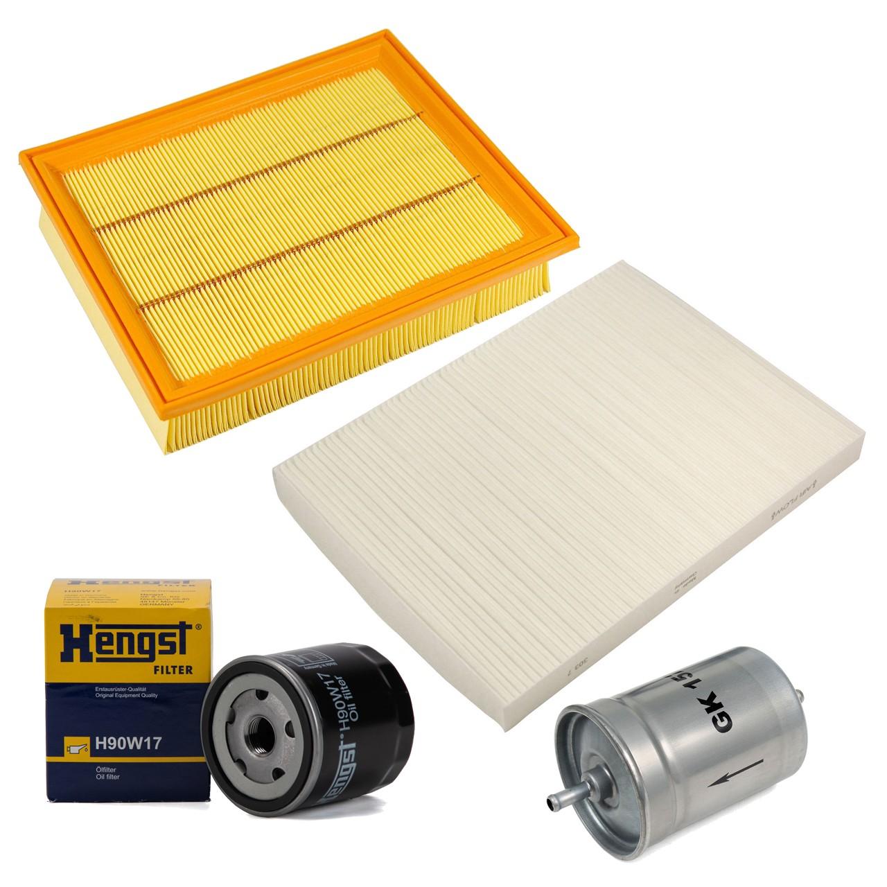 Inspektionskit Filterpaket Filterset für VW Golf III Vento 1.4 1.6 55/60/75 PS