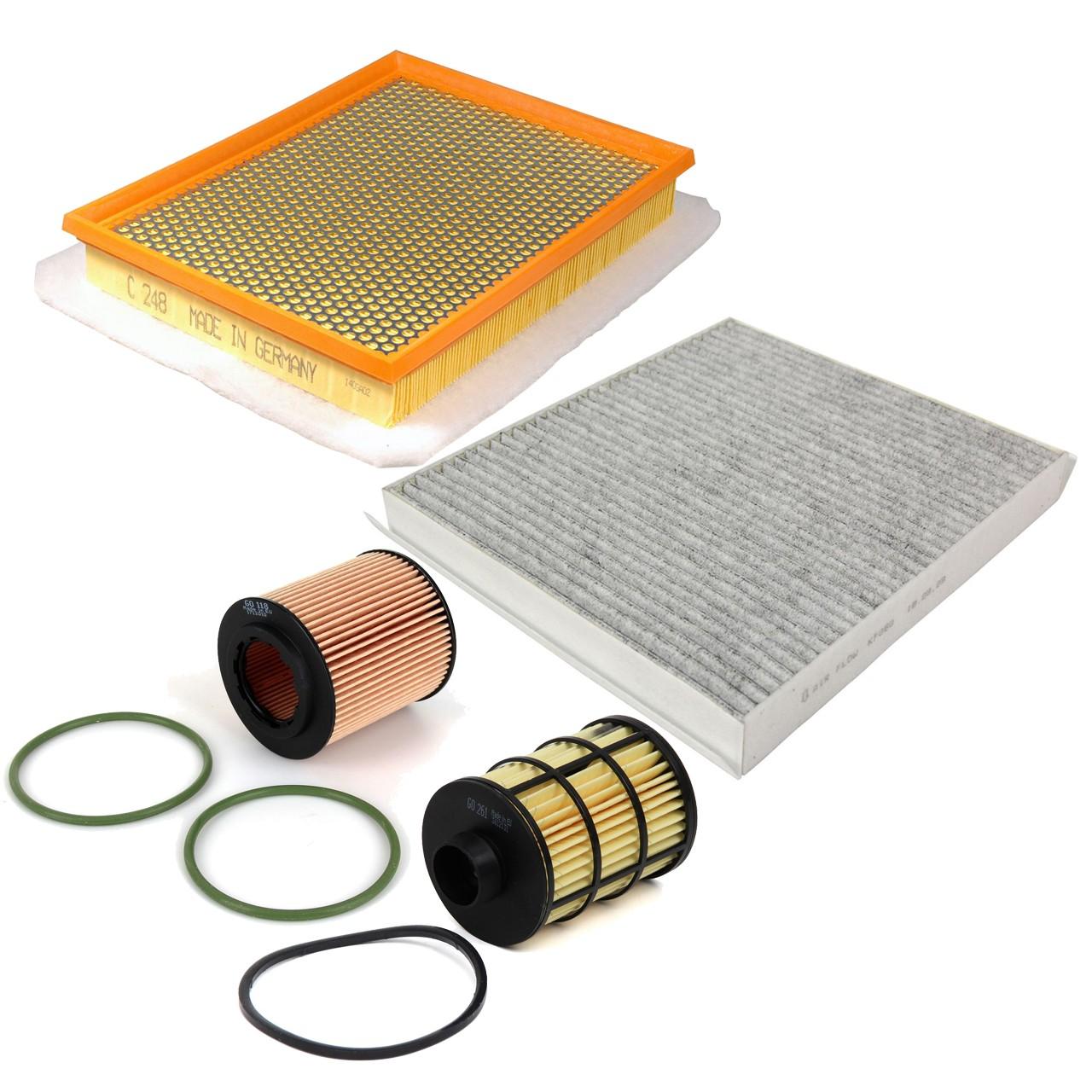 Inspektionskit Filterpaket Filterset für Opel Zafira B 1.9CDTI 100/120/150 PS