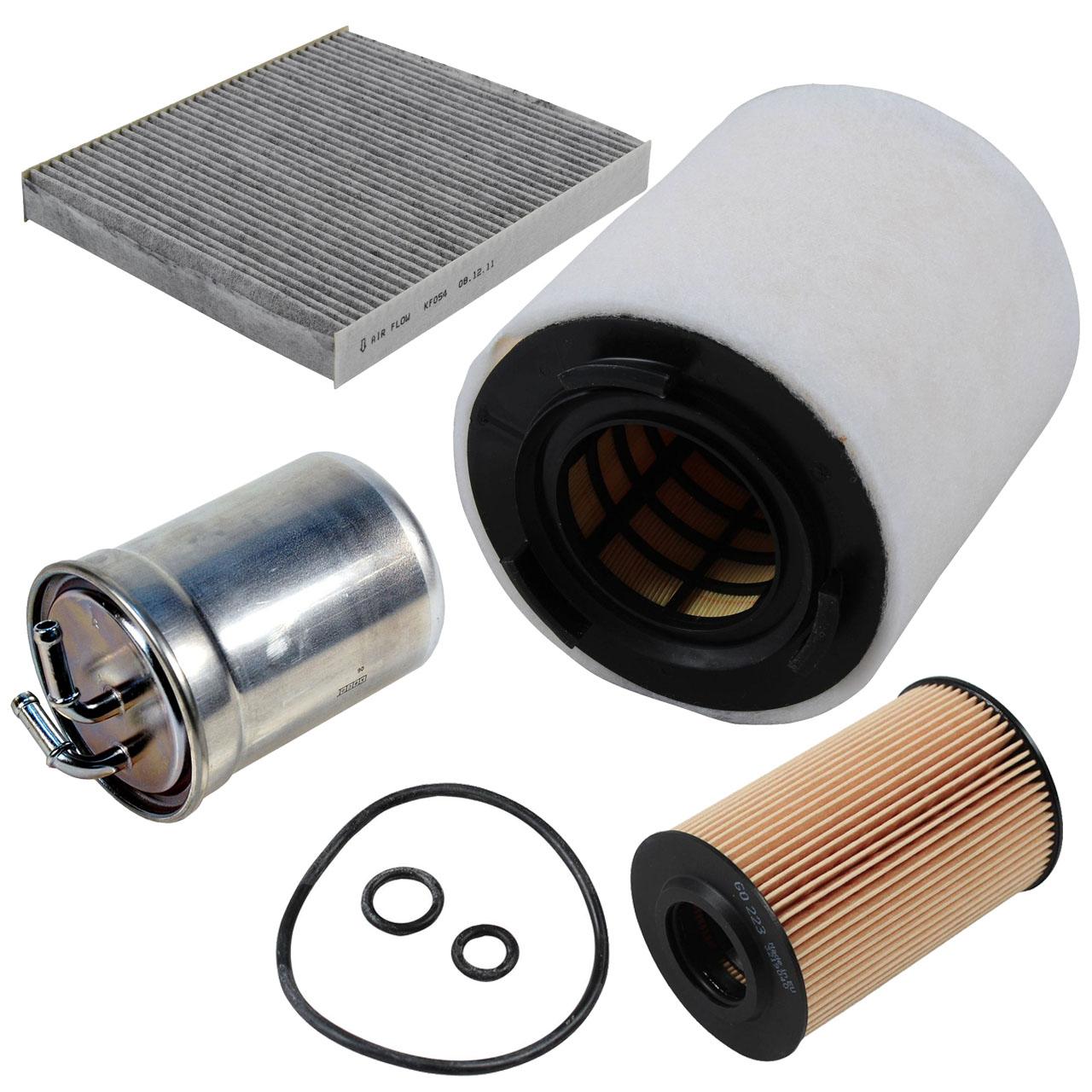Filterpaket Filterset für Seat Ibiza V Skoda Fabia Roomster 1.6TDI