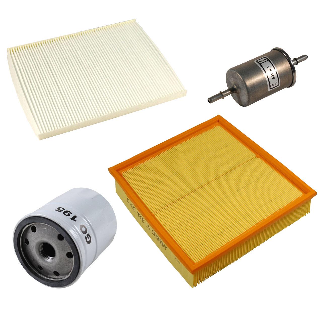 Inspektionskit Filterpaket OPEL Omega B 2.0/2.2 16V 2.5/3.0 V6 bis 08.1999