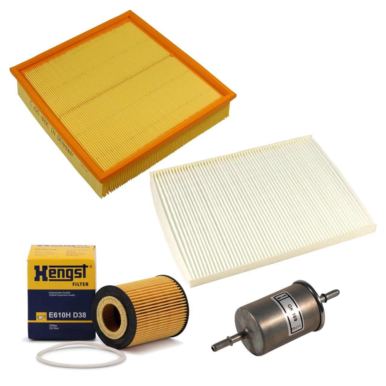 Inspektionskit Filterpaket OPEL Omega B 2.5 / 2.6 / 3.0 / 3.2 V6 ab 09.1999