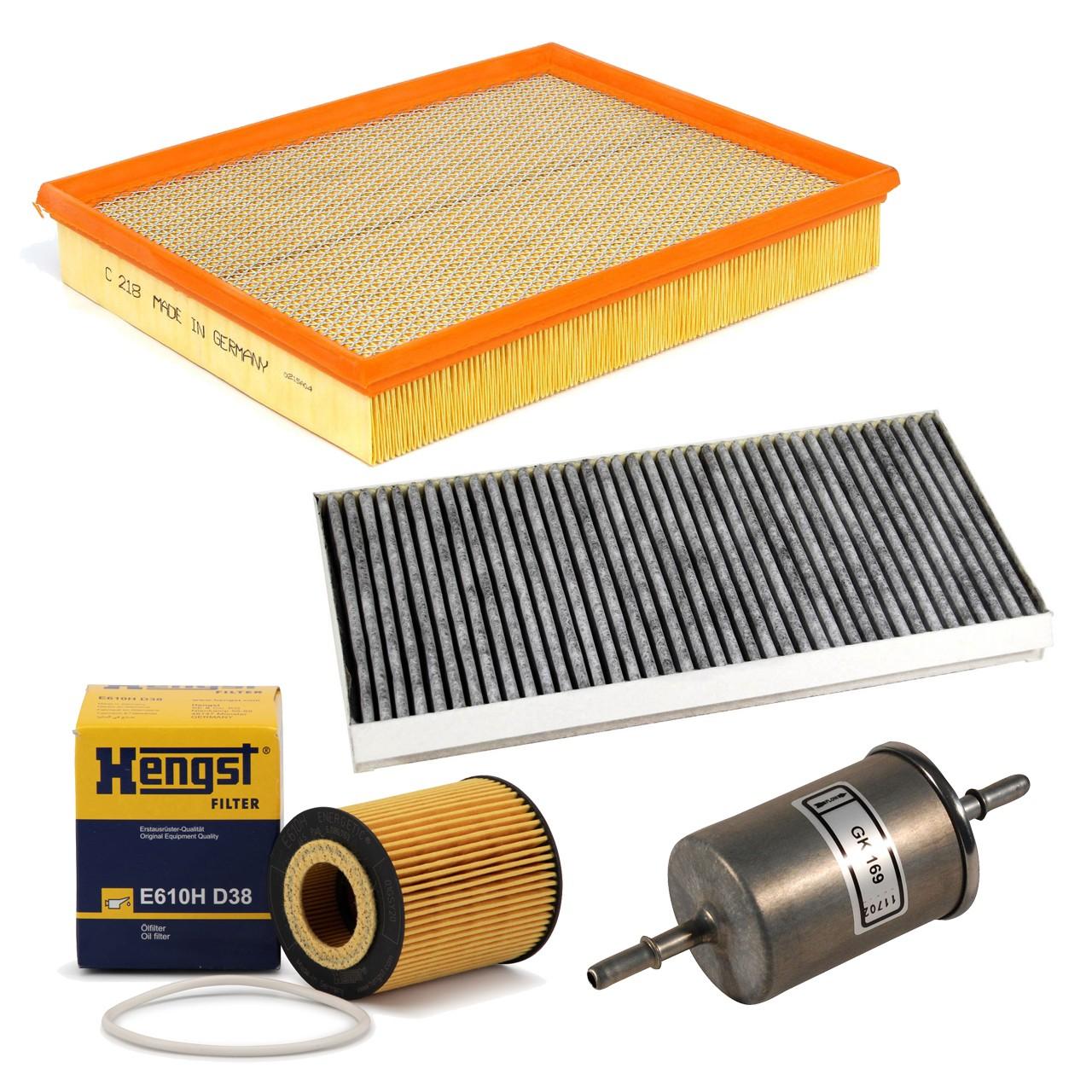Inspektionskit Filterpaket Filterset für Opel Signum Vectra C 3.2 V6 211PS Z32SE